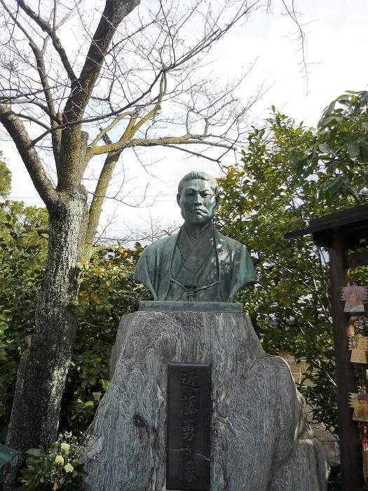 壬生寺₋近藤勇像