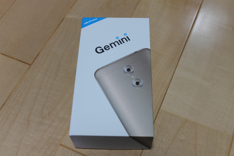 【開封の儀】 Ulefone Gemini 【レビュー】