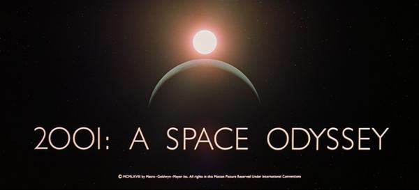 2001年宇宙の旅 見ました