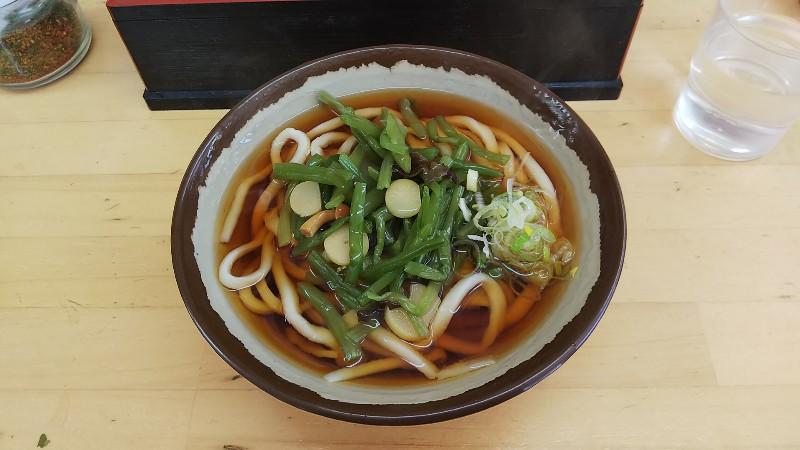 山菜うどん1802