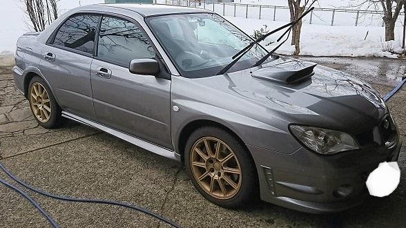 休日洗車①