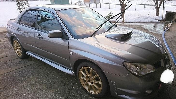 休日洗車⑥