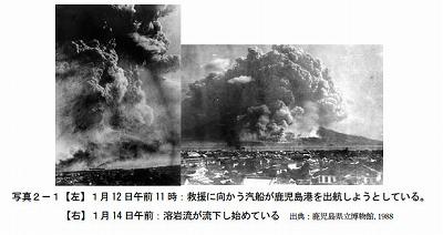 桜島の大正噴火1