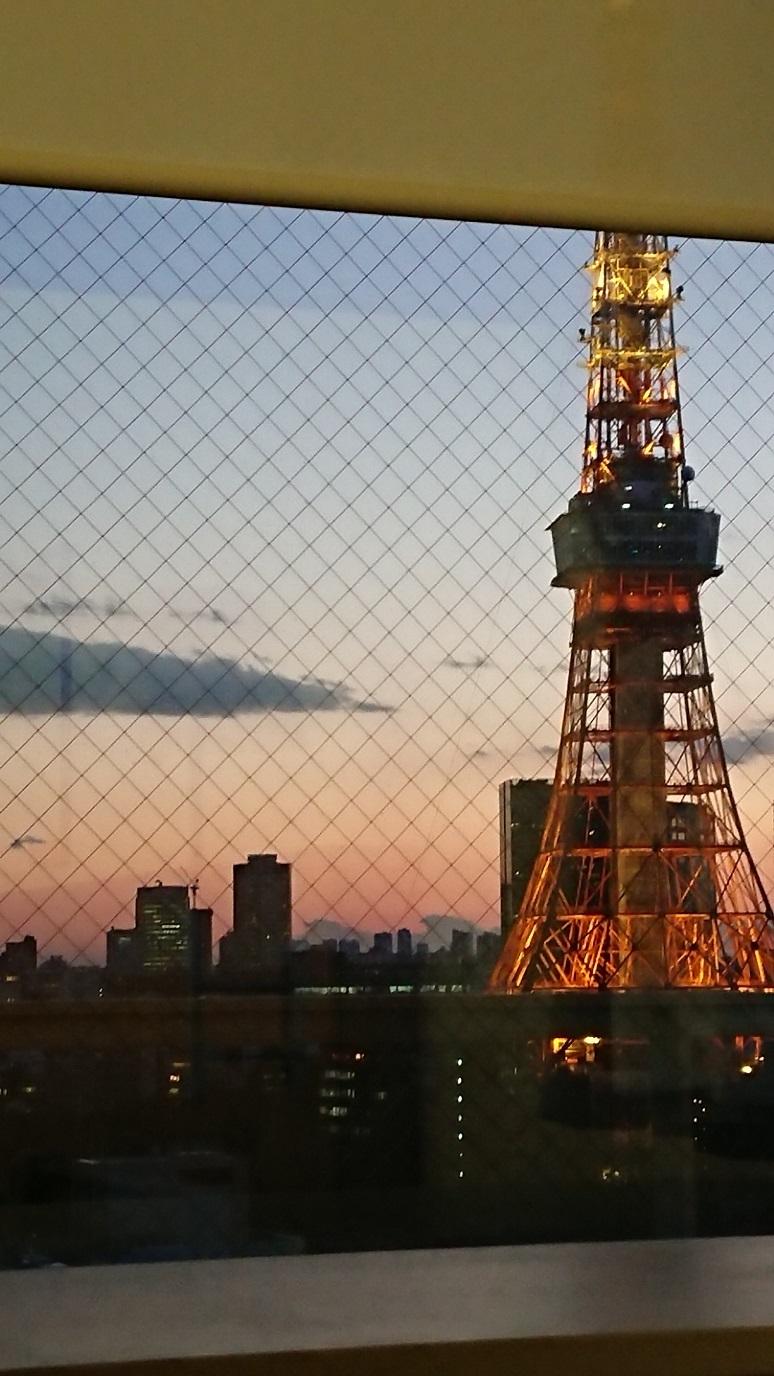 東京タワー 夕景 blog1