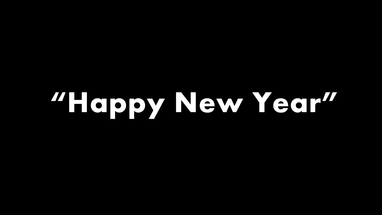 Happy New Year & Happy New Kill
