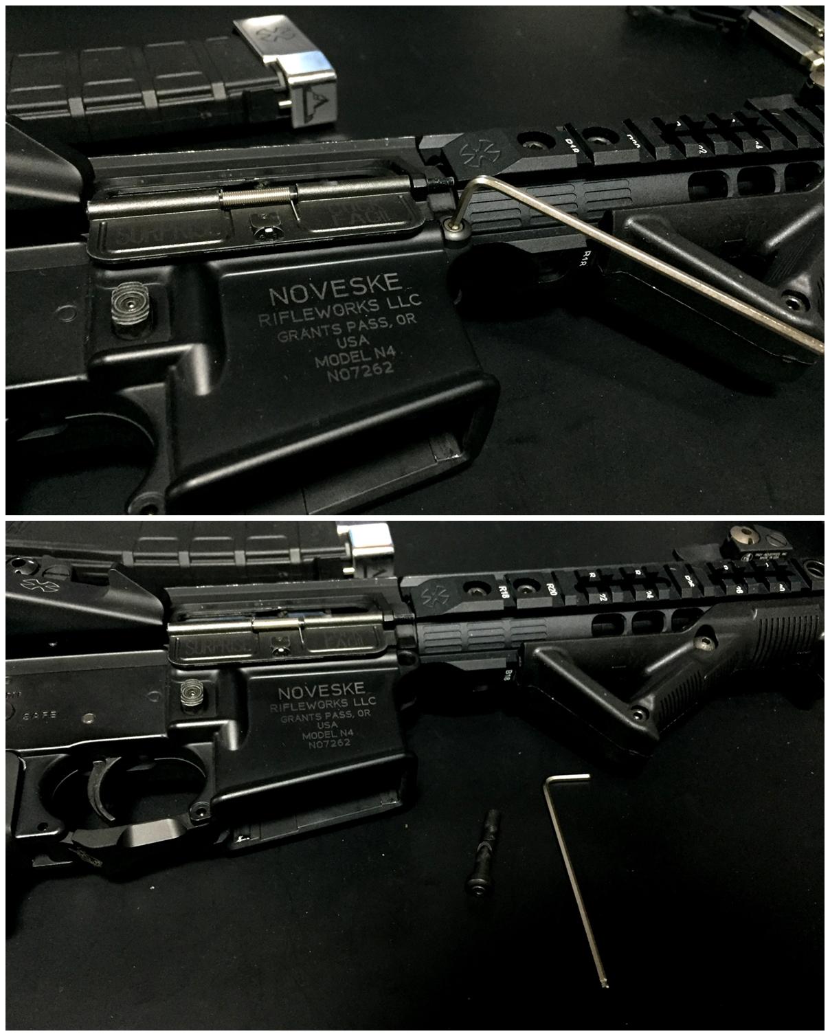 3 次世代 M4 チャンバーシールリング 取付 命中精度UP