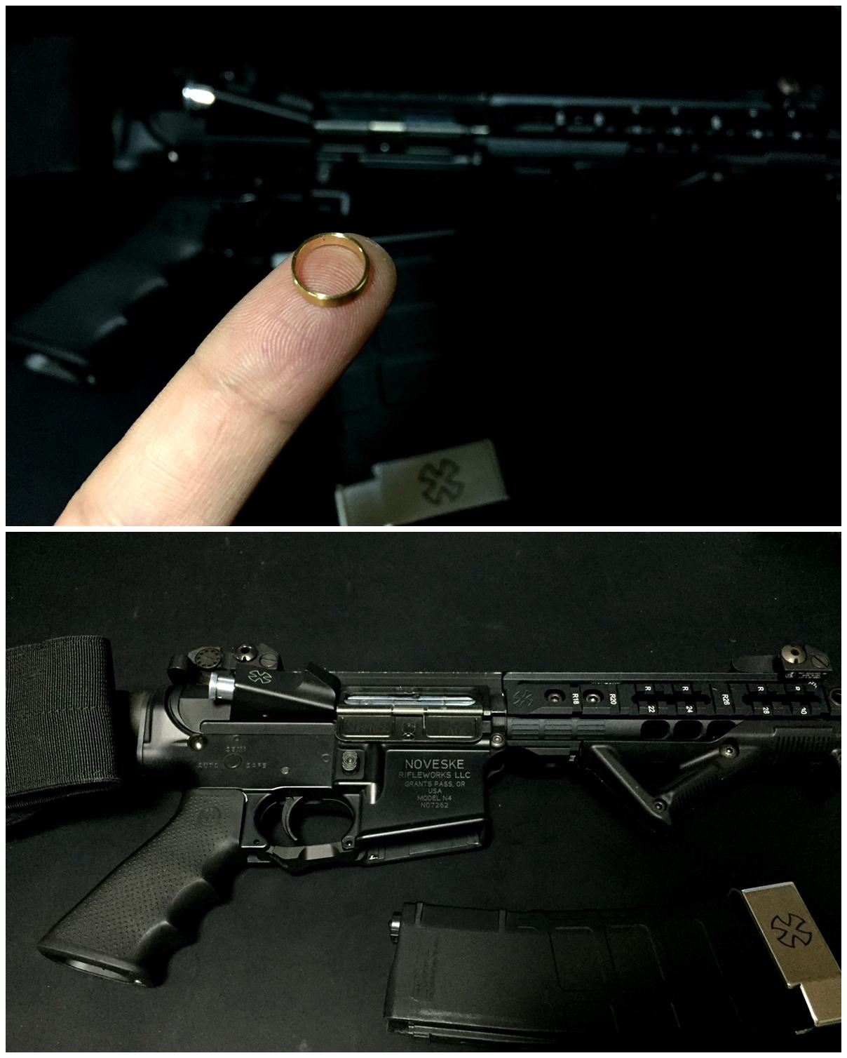 2 次世代 M4 チャンバーシールリング 取付 命中精度UP