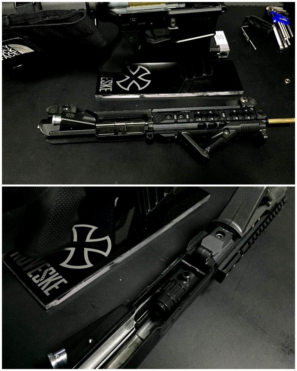 5 次世代 M4 チャンバーシールリング 取付 命中精度UP