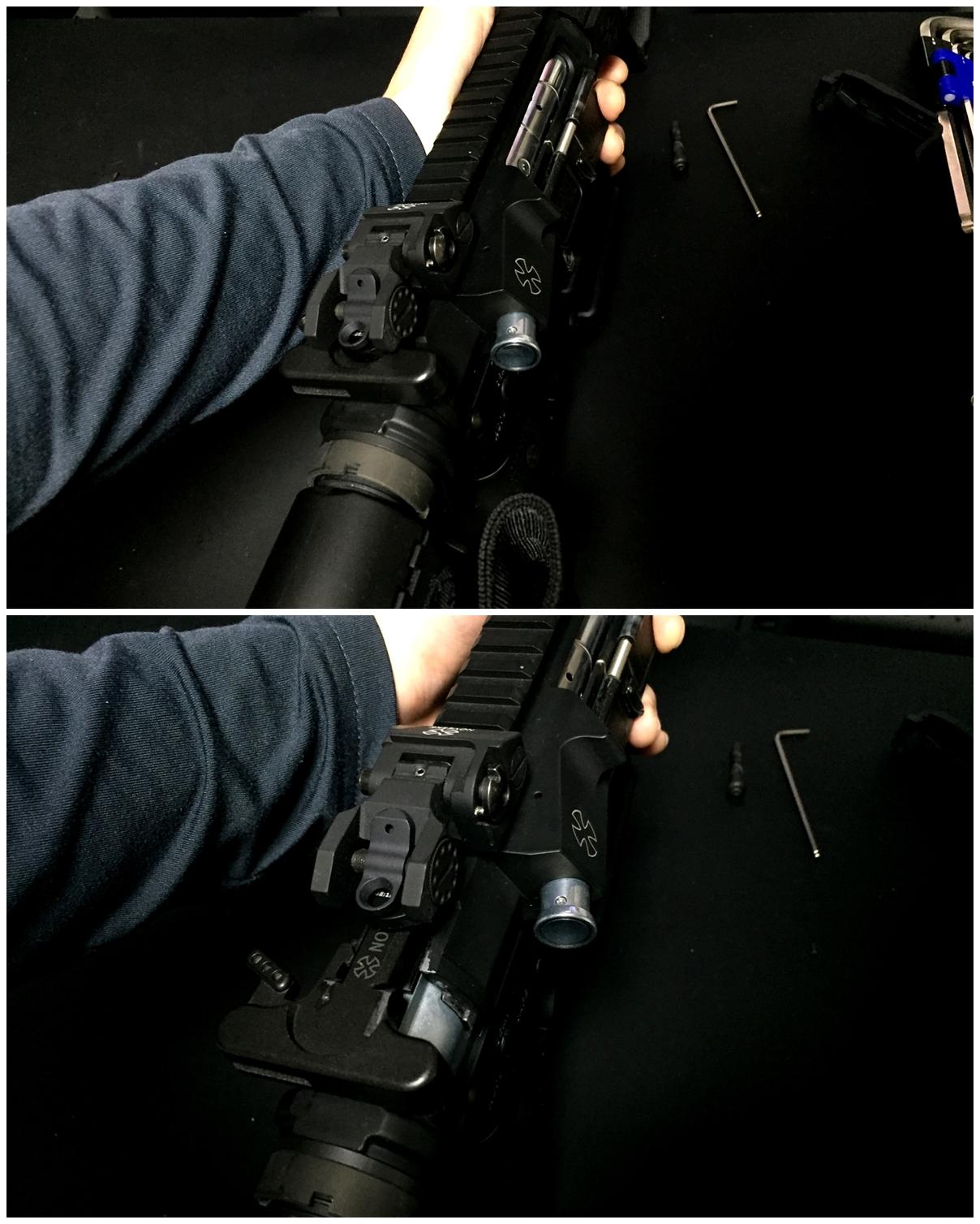 4 次世代 M4 チャンバーシールリング 取付 命中精度UP
