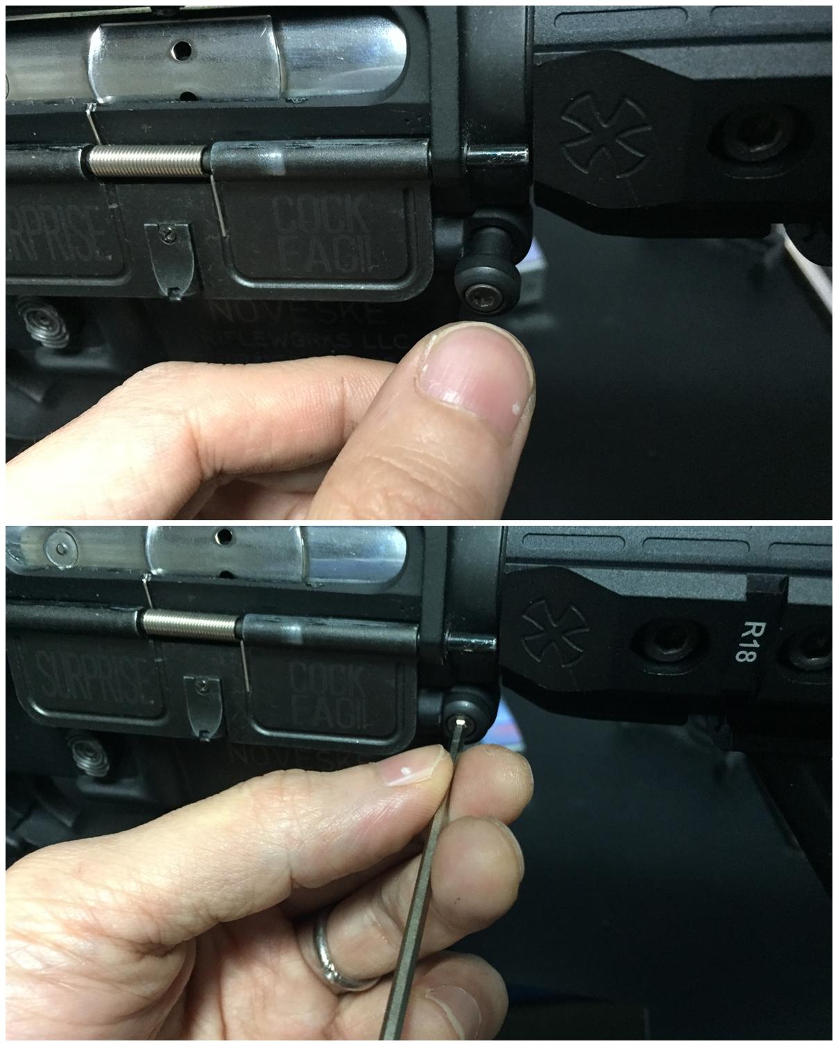 16 次世代 M4 チャンバーシールリング 取付 命中精度UP