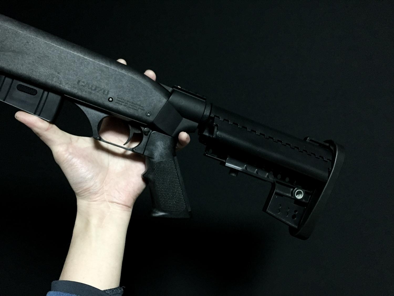 3マルゼン CA870 VLTOR CLUBFOOT ヴォルダーストック カスタム パット Remington 刻印 加工 カスタム