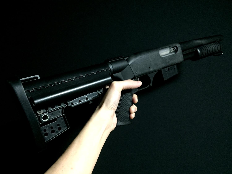 4マルゼン CA870 VLTOR CLUBFOOT ヴォルダーストック カスタム パット Remington 刻印 加工 カスタム