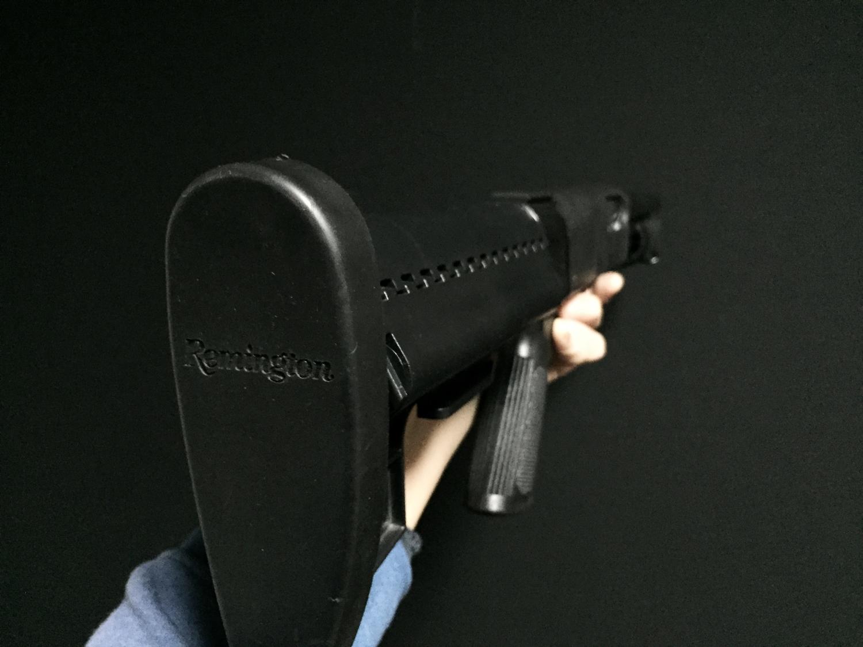 7マルゼン CA870 VLTOR CLUBFOOT ヴォルダーストック カスタム パット Remington 刻印 加工 カスタム