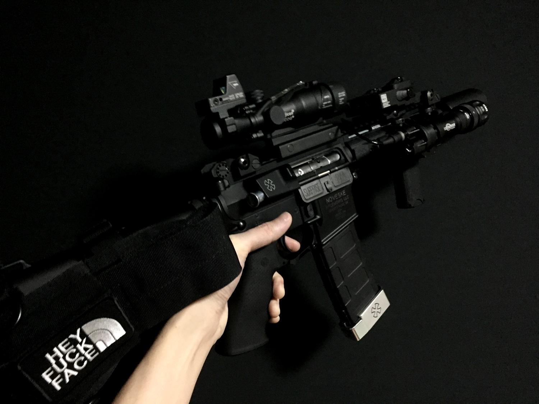3次世代 M4 CQB-R BCM TYPE バーティカル グリップ カスタム 交換 取付 レビュー