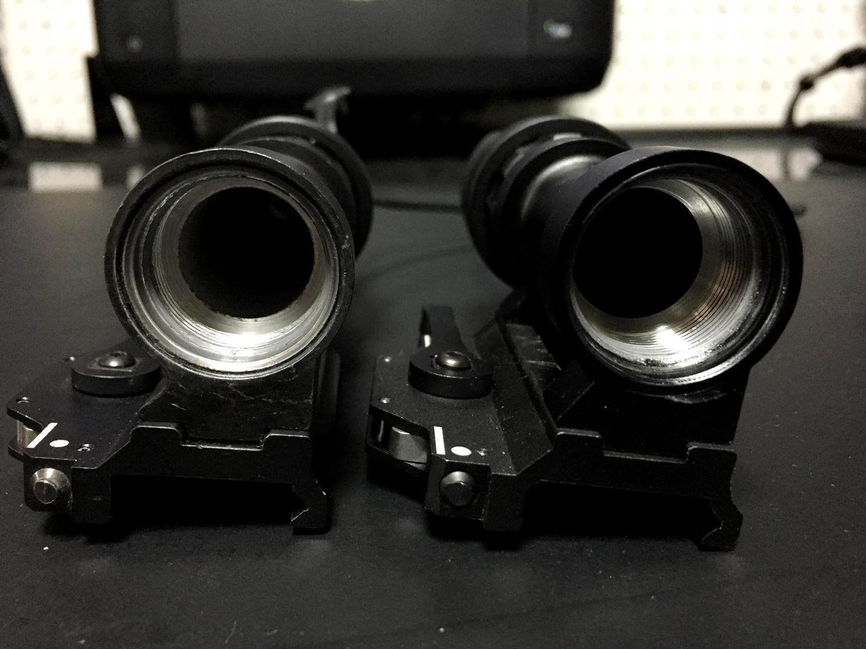 21 SUREFIRE M952V 実物 & レプリカ シュアファイア LED タクティカルライト 検証 比較 レビュー