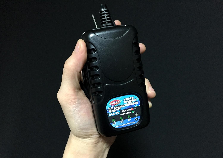 2 イーグル模型 充電器 AC Li-Poバランシングチャージャー 2-3S用 3900-LIPO