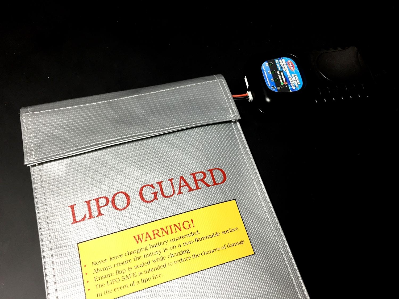 8 おすすめ LiPo リポバッテリー 安全対策 充電 & 保管 防火袋 選び 比較 検証 レビュー