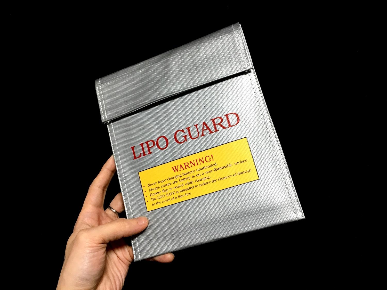 1 おすすめ LiPo リポバッテリー 安全対策 充電 & 保管 防火袋 選び 比較 検証 レビュー