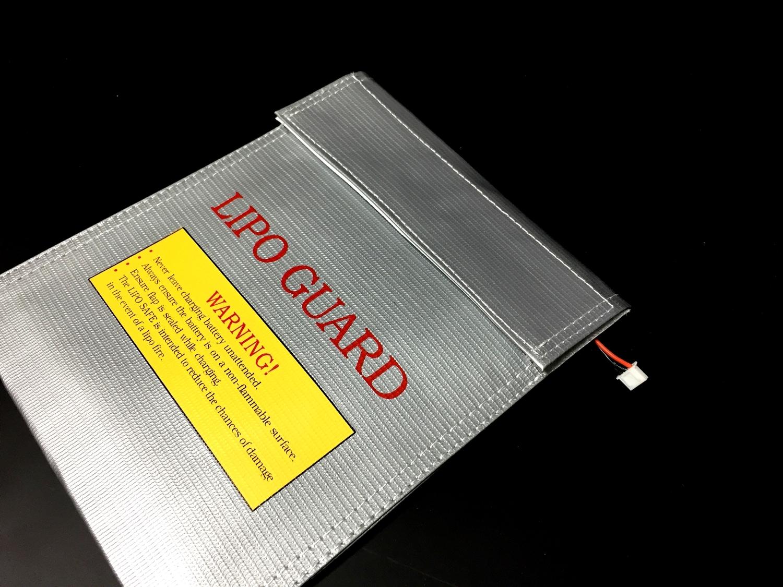 7 おすすめ LiPo リポバッテリー 安全対策 充電 & 保管 防火袋 選び 比較 検証 レビュー