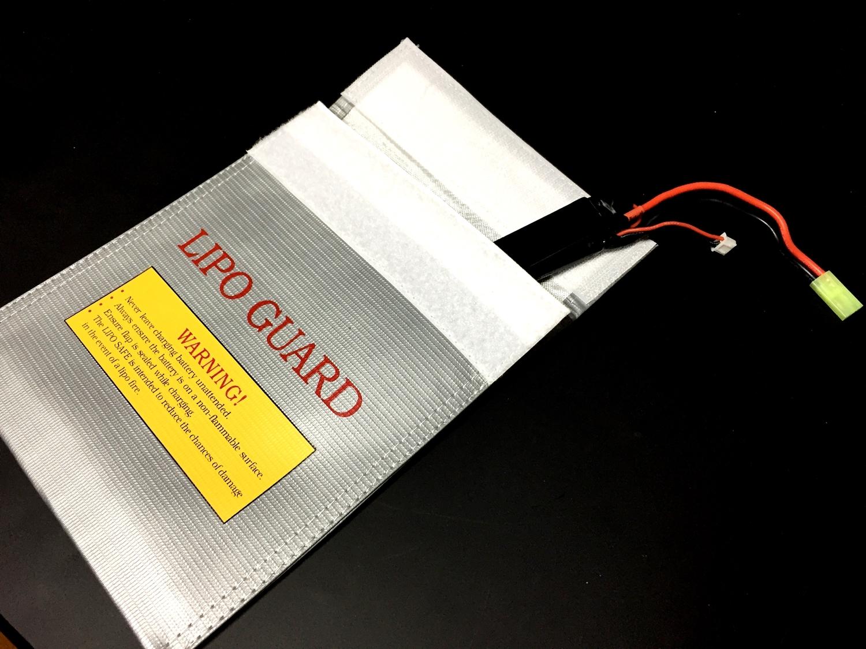 5 おすすめ LiPo リポバッテリー 安全対策 充電 & 保管 防火袋 選び 比較 検証 レビュー
