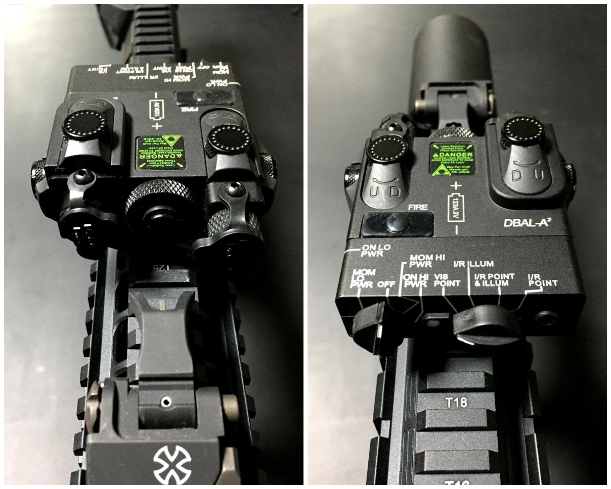 G&P PEQ-15A DBAL-A2 Red-IR GP959 IR 赤外線 ポイントライト & IRレーザー ナイトビジョン 検証 比較 レビュー