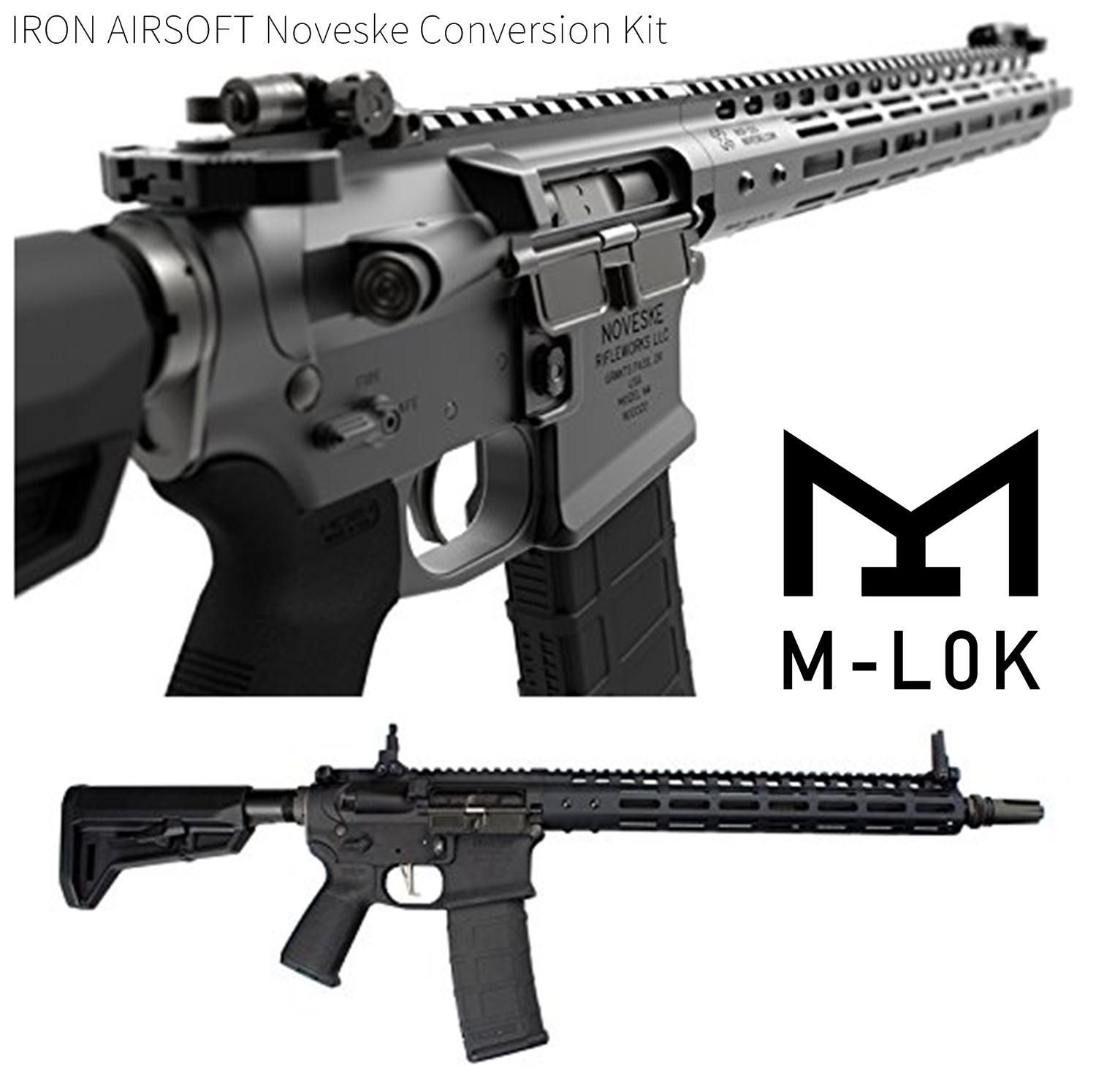 HILOG IRON AIRSOFT Noveske Conversion Kit