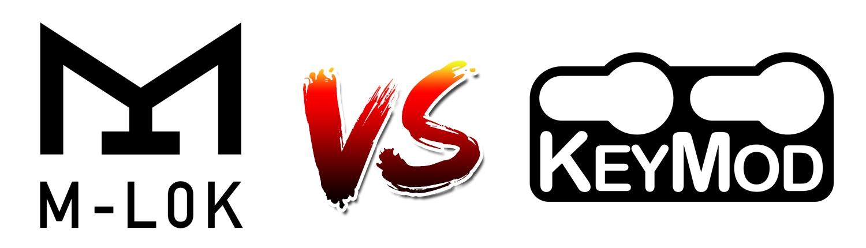 【M-LOK(エムロック)】 VS 【Keymod(キーモッド)】