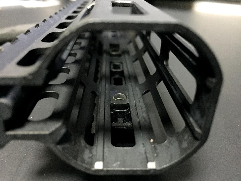 16 M-lok PTS Enhanced Rail Section ERS 7 Slots BLACK エンハンストポリマーレール セクション M ロック 開封 取付方法 レビュー