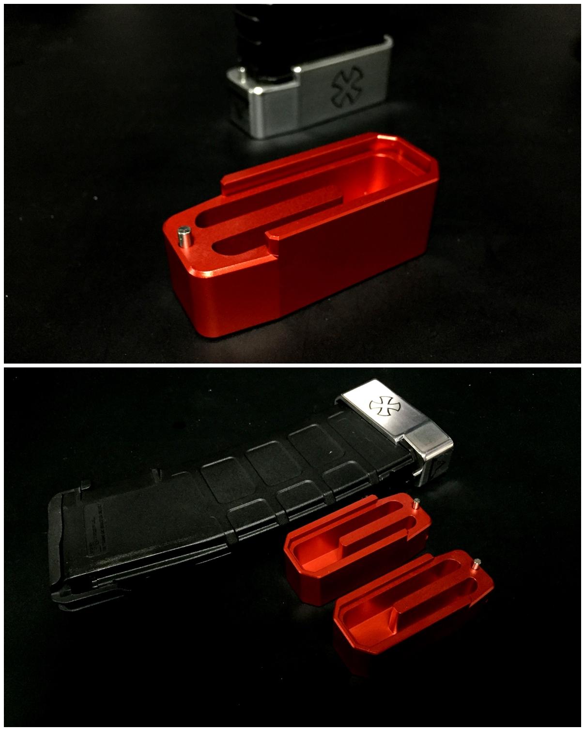 3 UAC P-MAG TTI TYPE アルミ ベース パッド 追加 購入 & TTI NOVESKE DIY LASER 刻印 加工 取付 レビュー