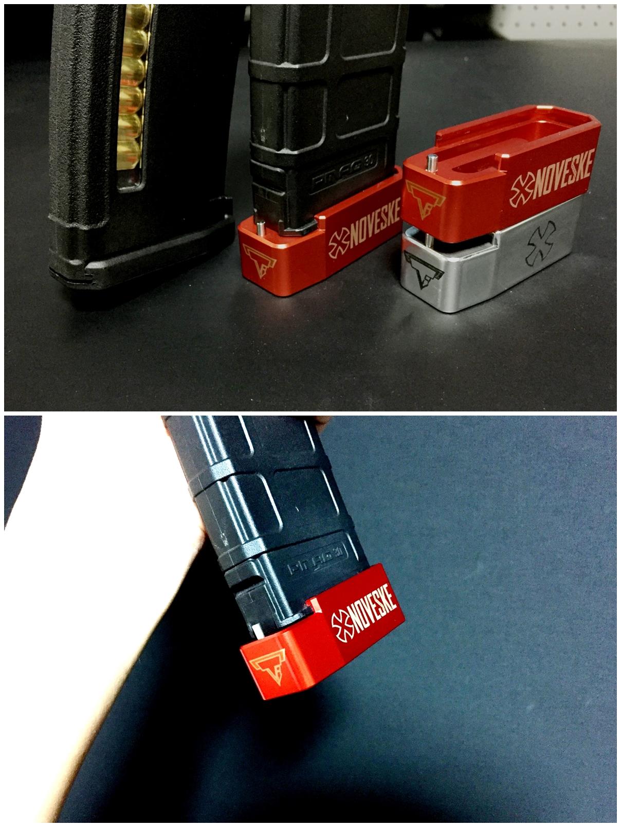 8 UAC P-MAG TTI TYPE アルミ ベース パッド 追加 購入 & TTI NOVESKE DIY LASER 刻印 加工 取付 レビュー