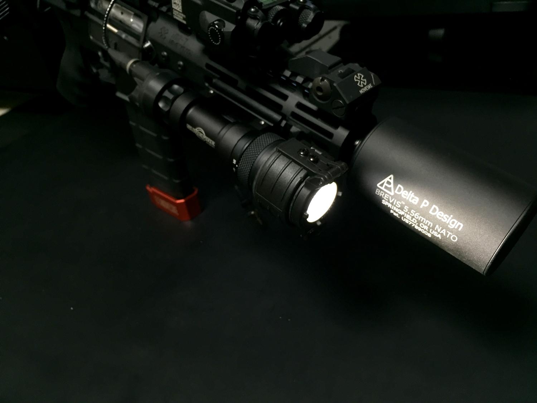 15 SUREFIRE FM44 FM4X 1.37 BEZEL VAMPIRE BEAM SHAPER M952V M900V IR シュアファイアー ビームシェーパー ウェポンライト カバー 検証 レビュー