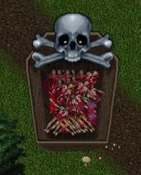 死体集め完了、これはひどい。