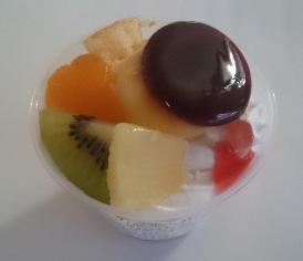 フルーツのショートケーキプリン03