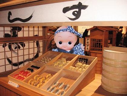 江戸東京博物館 寿司屋台です