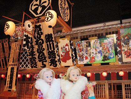 江戸東京博物館の歌舞伎座です