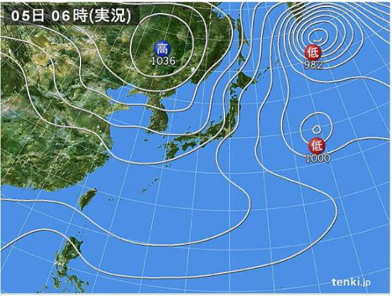 2017-01-05-天気図