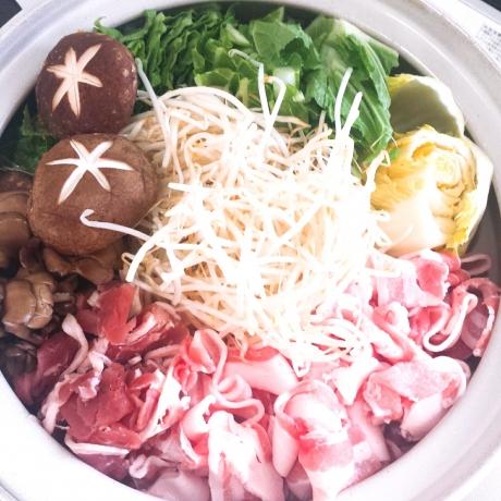 2018-01-02-もやしちゃんこ鍋
