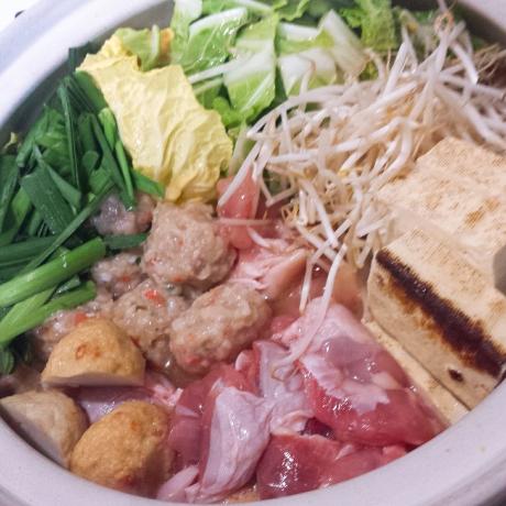2018-01-11-鶏みそ煮込み鍋