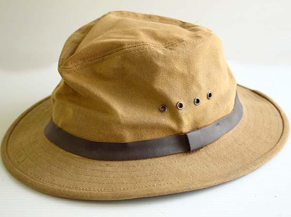 FILSON フィルソン オイルドコットンハット TIN PACKER HAT