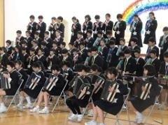 田上小6年生の合奏と合唱