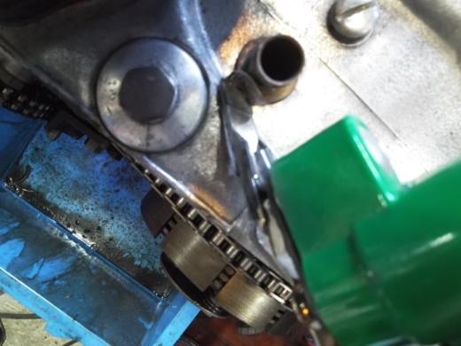 ①エンジンフィン磨き (6)