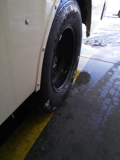 タイヤの空気