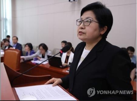 韓国女性家族相1