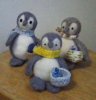 3羊毛 ペンギン1