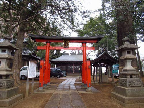大谷場氷川神社1