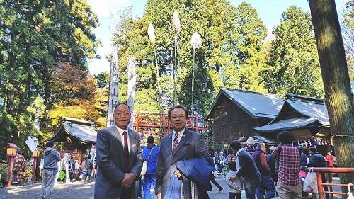 今年も上河内 羽黒山神社<梵天祭り>へ!