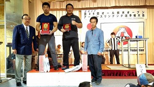 第28回オール栃木オープン<アームレスリング選手権大会>!<br />②