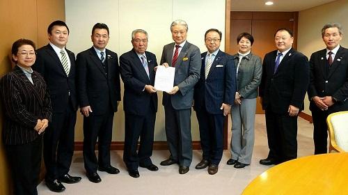 2018年度当初予算・政策推進要望 知事に<申し入れ>!①