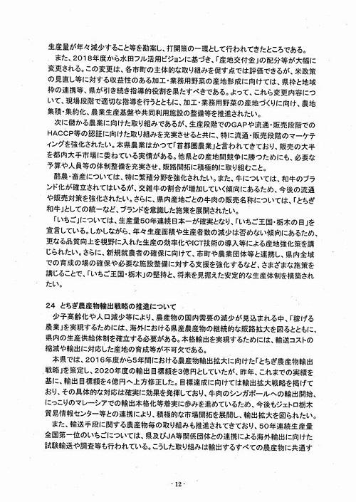 2018年度当初予算・政策推進要望 知事に<申し入れ>!⑭