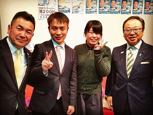 松井正一 栃木県議会議員≪新春のつどい≫へ!